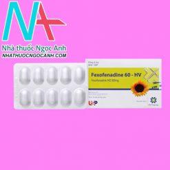 Fexofenadine 60-HV