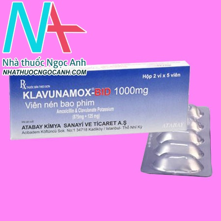 Klavunamox-Bid 1000mg
