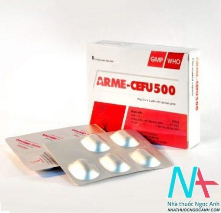 Thuốc Arme-cefu 500