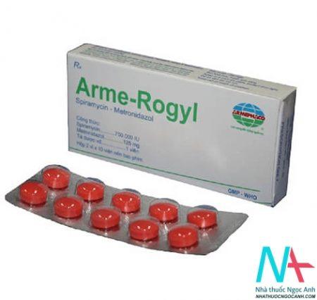 arme rogyl điều trị nhiễm trùng răng miệng
