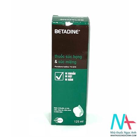 thuốc BETADINE