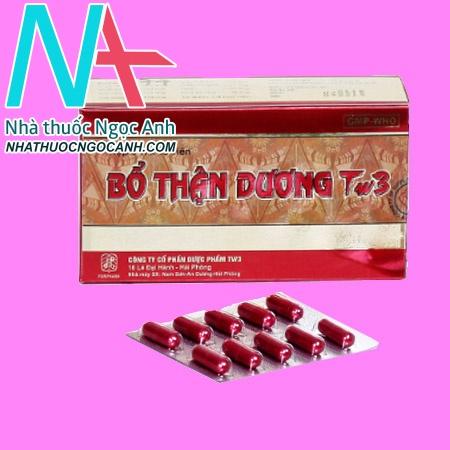Thuốc Bổ Thận Dương TW3