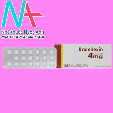 Bromhexin 4mg
