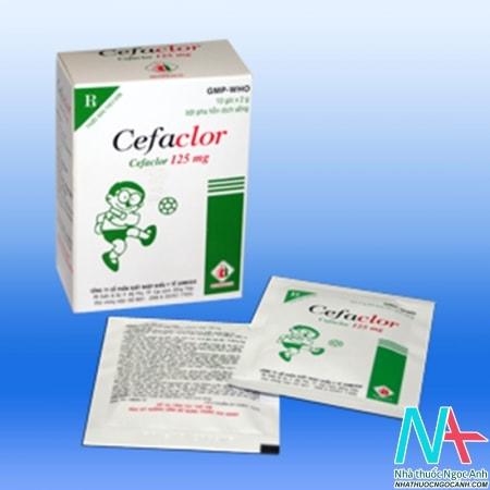 kháng sinh cefaclor