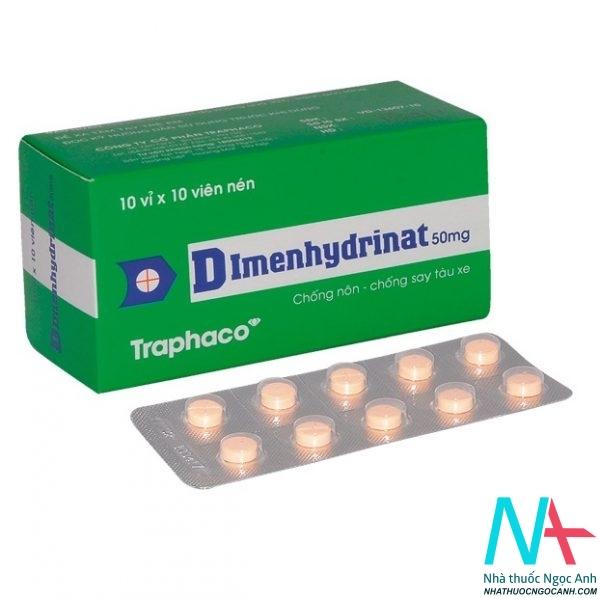 Thuốc Dimenhydrinat
