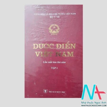 Dược điển Việt Nam tập 1