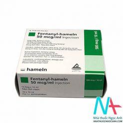 Hộp Fentanyl-hameln 50 mcg/ml Injection