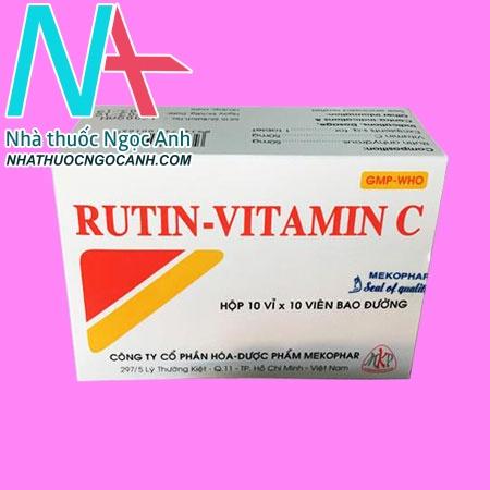 Rutin - Vitamin C
