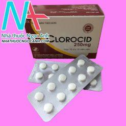 Hộp thuốc Clorocid