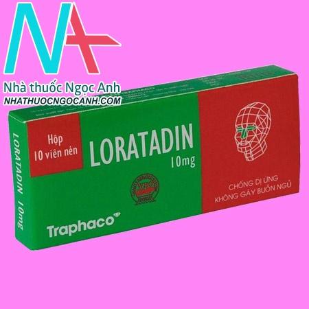 Hộp thuốc Loratadine 10mg