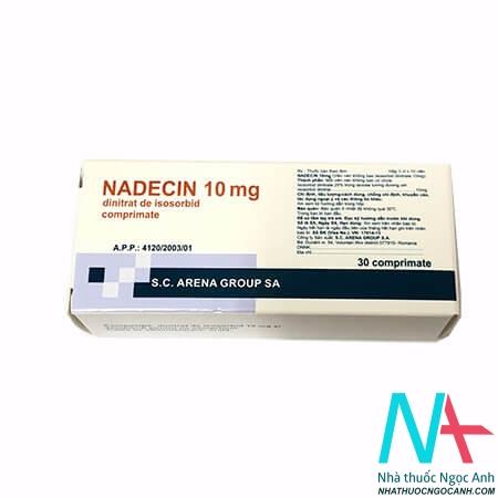 Thuốc Nadecin 10 mg