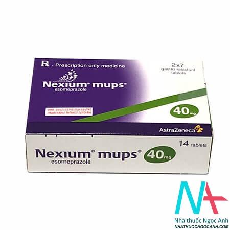 Hộp Nexium mups
