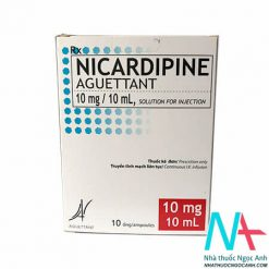 Thuốc Nicardipine Aguettant10mg/10ml