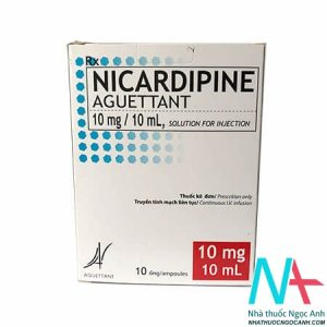 NICARDIPINE AGUETTANT 10 mg/10 mL