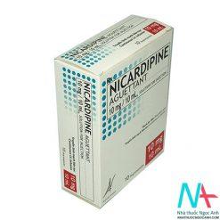 Mặt bên hộp Nicardipine