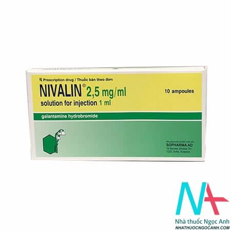 thuốc Nivalin 2,5mg tiêm