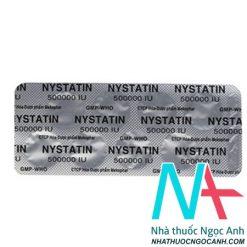 thuốc Nystatin 500000 IU