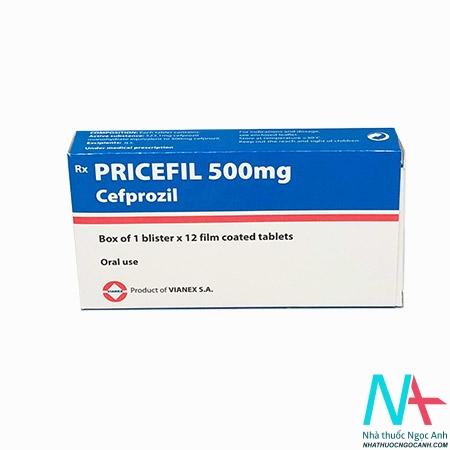 thuốc Pricefil 500mg