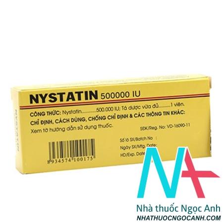 Thuốc Nystatin giá bao nhiêu
