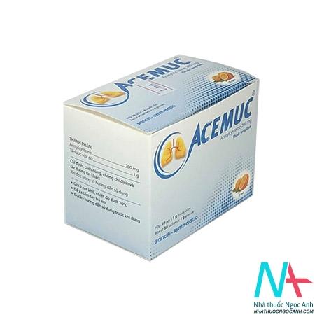 thuốc acemuc 200mg