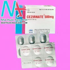 CEZIRNATE 500mg
