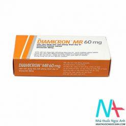 Thuốc DIAMICRON MR 60mg có tác dụng điều trị đái tháo đường tuýp 2
