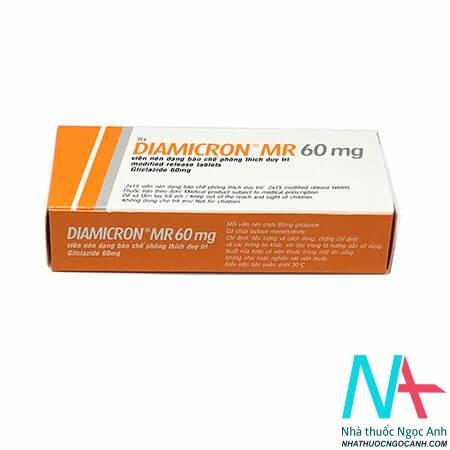 Thuốc DIAMICRON MR