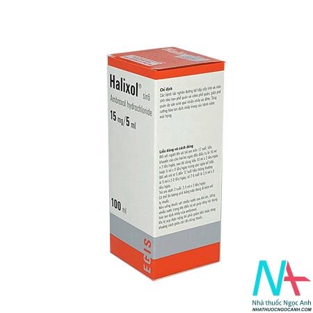 Hộp thuốc Siro Halixol