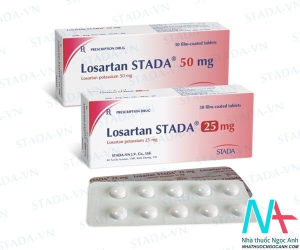 Thuốc Losartan standa