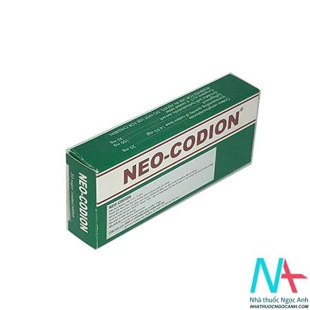 thuốc neo - codion