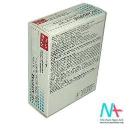 Mặt sau hộp Nicardipine