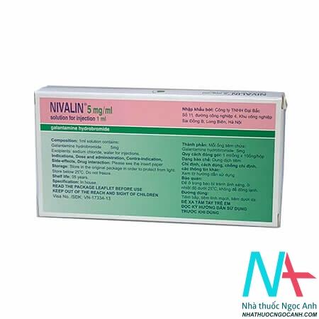 thuốc Nivalin 5mg tiêm