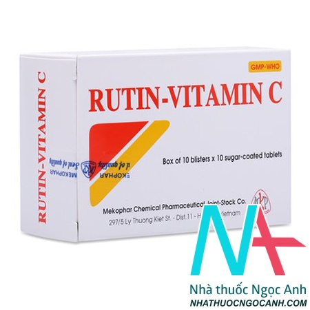 ảnh: Thuốc Rutin Vitamin C