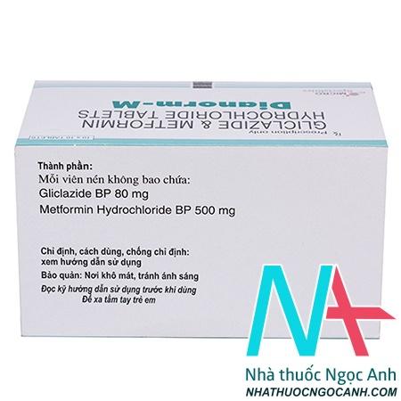 hướng dẫn sử dụng thuốc Dianorm-M