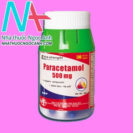 Paracetamol 500mg Quapharco