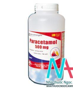 Paracetamol 500mg QuaPhaCo