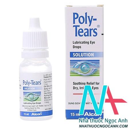 thuốc nhỏ mắt Poly-Tears giá bao nhiêu