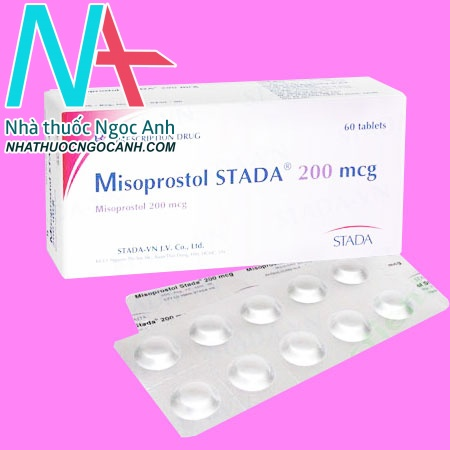 Misoprostol STADA 200mcg