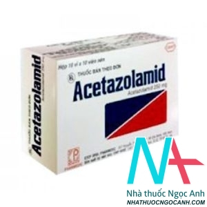 Acetazolamid 250mg