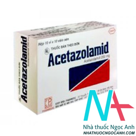 Acetazolamid 250mg