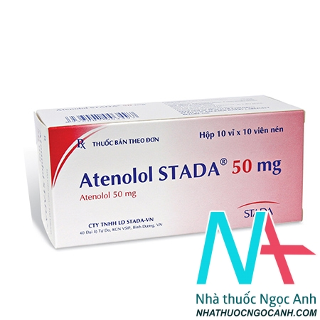 thuốc atenolol stada