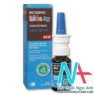 thuốc xịt mũi Betadine Kids