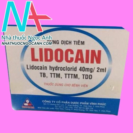 Lidocain Hydroclorid 40mg/2ml