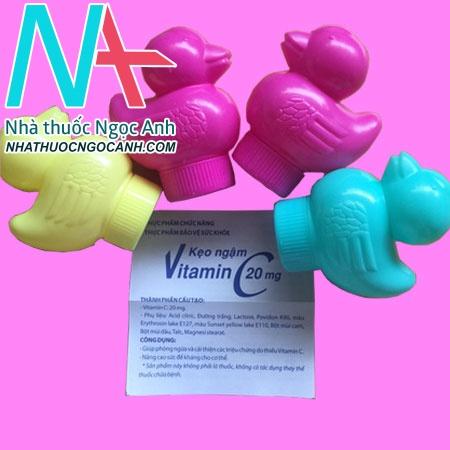 Kẹo ngậm VITAMIN C cho bé (C thú)