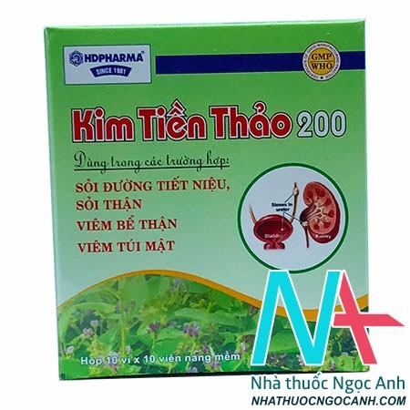 Thuốc Kim tiền thảo