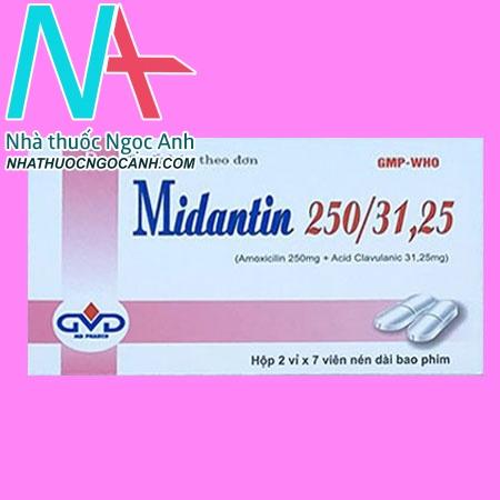 Midantin 250/31,25
