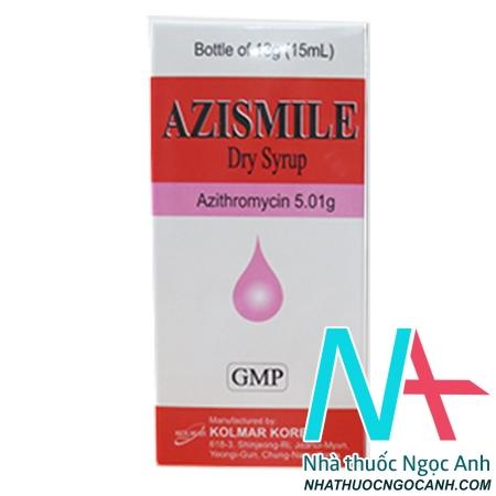 thuốc azismile 15ml