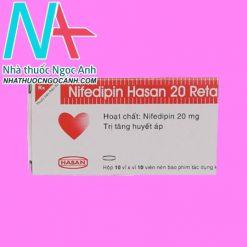 Nifedipin Hasan 20 Retard