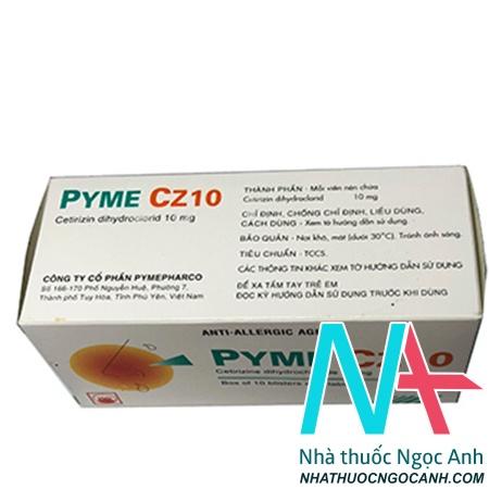 thuốc Pyme CZ 10