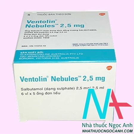 Ventolin Nebules